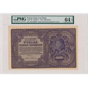 1.000 mkp 08.1919 - I Serja AP - PMG 64 EPQ