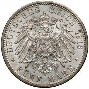 Badenia, 5 marek 1913-G