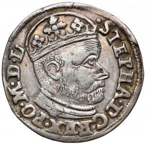Stefan Batory, Trojak Olkusz 1585 G-H