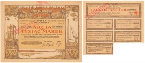 Hurtownia Drzewa Wisla w Bydgoszczy, Em.2, 1.000 mkp 1921