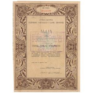 Spółka Akc. Przemysłu Naftowego i Gazów Ziemnych, Em.3, 1.000 mkp 1922