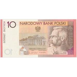 10 złotych 2008 Józef Piłsudski - ON 0049000