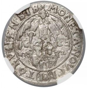 Jan II Kazimierz, Ort Toruń 1662 HDL - TOrvnensis - NGC AU58