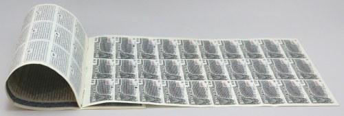 7% Pożyczka Stabilizacyjna 1927, Talon do Obligacji na $1.000, SPECIMEN