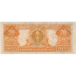 USA, 20 dollars 1922, Gold Certificate