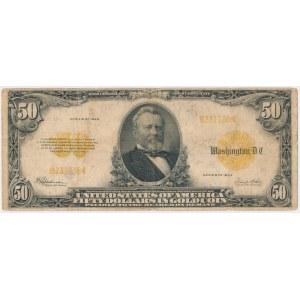 USA, 50 dollars 1922, Gold Certificate