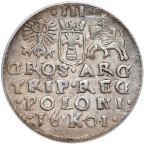 Zygmunt III Waza, NAŚLADOWNICTWO trojaka Kraków 1601