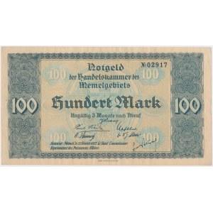 Memel (Kłajpeda), 100 mk 1922