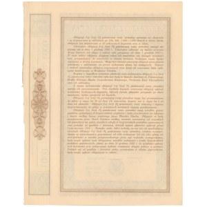 3% Państwowa Renta Ziemska 1933, Obligacja na 1.000 zł