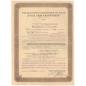 VITA i KRAKOWSKIE, Polisa 1933r