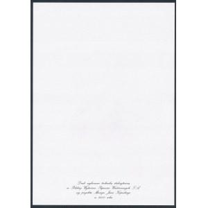PWPW, Ignacy Jan Paderewski - STALORYT PORTRETU