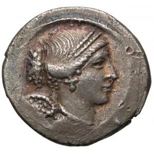 Republika, T. Carisius (46pne) Denar