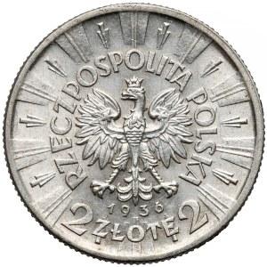 Piłsudski 2 złote 1936 - rzadki rocznik