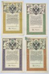 Austro-Węgry, 1868-1917r. - zestaw (20szt)