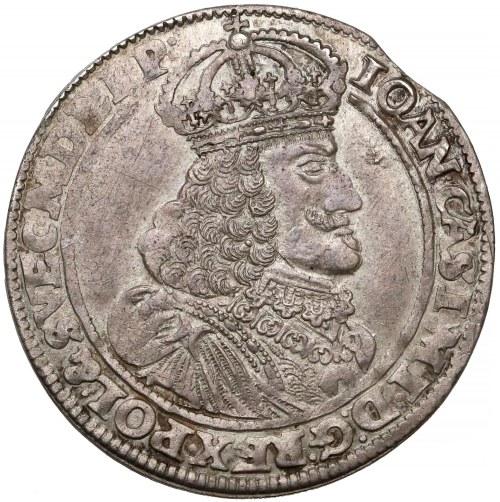 Jan II Kazimierz, Ort Poznań 1653 AT - tarcza prosta