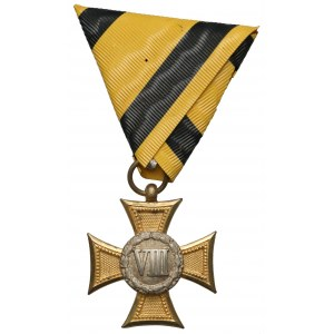 Military Long Service Cross 1st Class for 8 Years, 1st issue 1849-1867 (2)