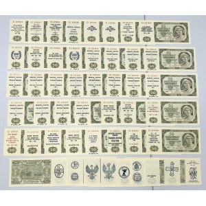 50 złotych 1948 - EL - z nadrukami okolicznościowymi, kolekcjonerskimi (48)
