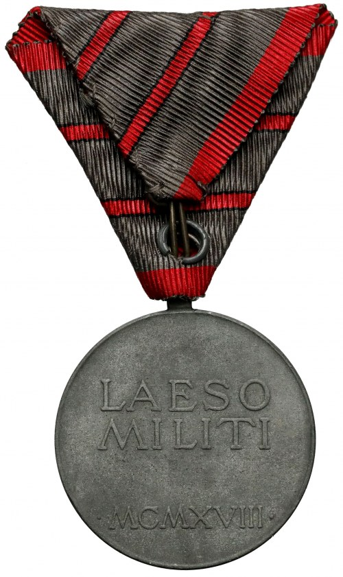 Wound Medal Laeso Militi, for two wounds