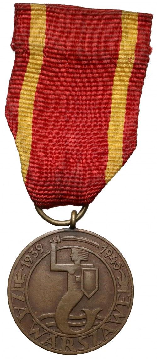 Medal za Warszawę 1939-1945 - pierwsza wersja