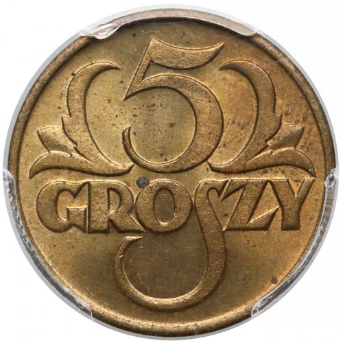 5 groszy 1923 - PCGS MS64