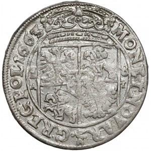 Jan II Kazimierz, Ort Bydgoszcz 1663 AT - AR-G - piękny