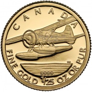 Kanada, 50 centów 2008 - DHC Beaver