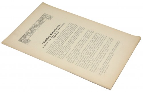 Falsyfikaty Majnertowskie z rękopisu ś.p. Karola Bayera świeżo wydane i uzupełnione
