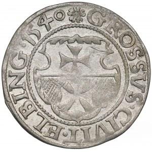 Zygmunt I Stary, Grosz Elbląg 1540 - ostatni