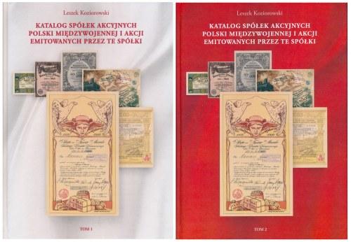 Koziorowski, Katalog Spółek Akcyjnych i Akcji... Tom I i II