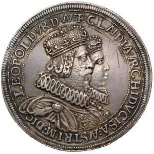 Austria, Leopold V, Dwutalar Hall bez daty (1635) - ŁADNY