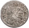 Zygmunt III Waza, Trojak Wilno 1608 - Bogoria - b. rzadki