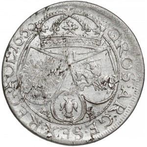 Jan II Kazimierz, Szóstak Kraków 1660 TLB - IOAN.CASIM