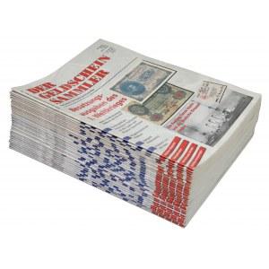 Der Geldschein Sammler, zestaw czasopism z lat 1995-2000 (34)
