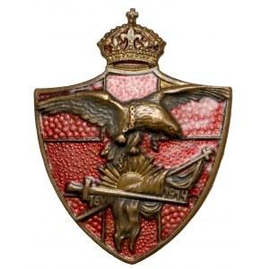 Odznaka NKN, Powstanie Legionów Polskich 16.VIII.1914