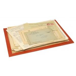 Polska, druki m.in.: telegramy, dyplomy mistrzowskie