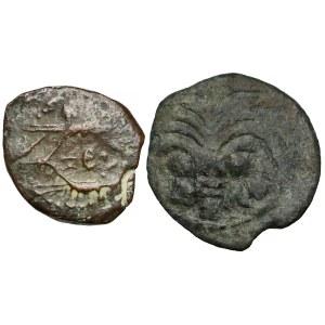 Rzym kolonialny, Judea, Prutah (dynastia hasmonejska i Marek Ambibulus)