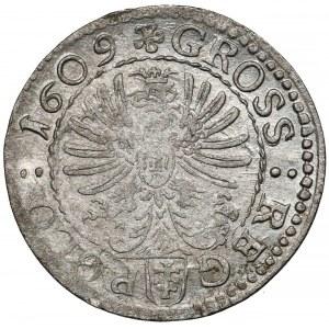 Zygmunt III Waza, Grosz Kraków 1609 - Pilawa