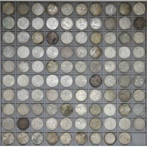 Niemcy, III Rzesza, ZESTAW 2 reichmark MIX (126szt)