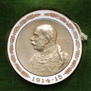Austro-Węgry, Medal emaliowany, Ferencz Jozsef 1914-15