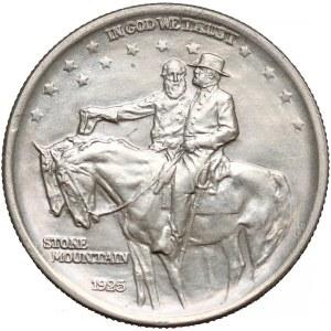 USA, 1/2 dolara 1925 - Stone Mountain