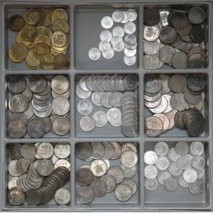 PRL zestaw menniczych monet MIX