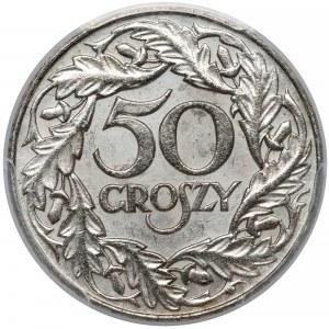 50 groszy 1938 - niklowane - PCGS MS62