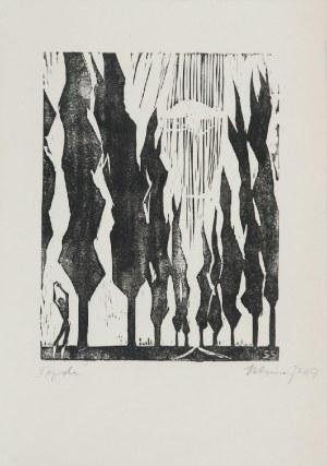 Stefan SZMAJ (1893-1970), Topole I, 1957