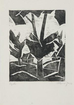 Stefan SZMAJ (1893-1970), Topole IV, 1957
