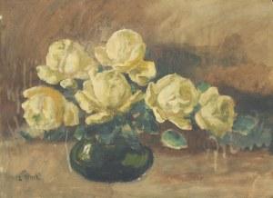 Ludwik REMER (1888-1979), Kwiaty w wazonie