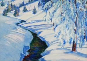Jan RUBCZAK (1884-1942), Pejzaż zimowy