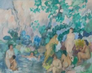 Jan Wacław ZAWADOWSKI (Zawado) (1891-1982), Kąpiące się
