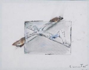Tadeusz KANTOR (1915-1990), Ukrzyżowany - szkic do sztuki teatralnej