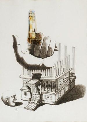 Wojtek SIUDMAK (ur. 1942), Collage, 1967