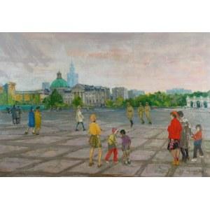 Józef MŁYNARSKI (ur. 1925), Na Placu Zwycięstwa, 1973